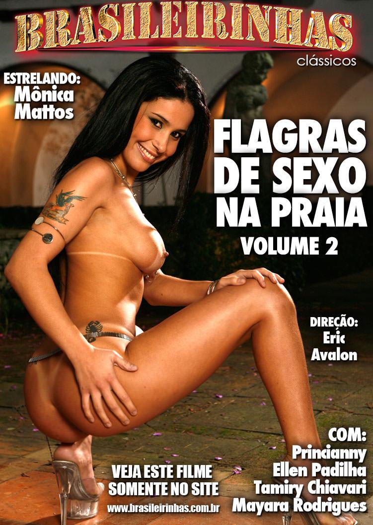 Capa Hard do filme Flagras de Sexo na Praia 2