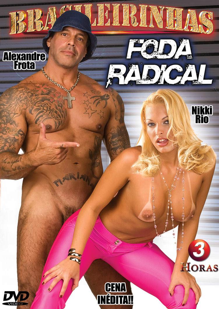 Capa frente do filme Foda Radical