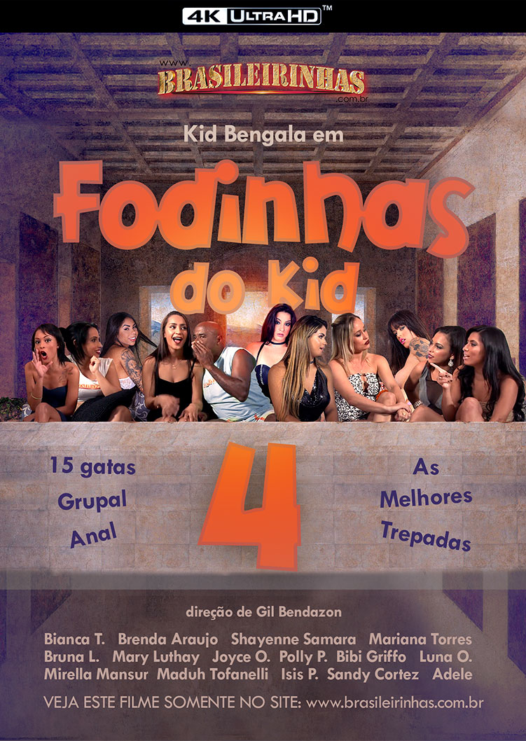 Capa frente do filme Fodinhas do Kid 4