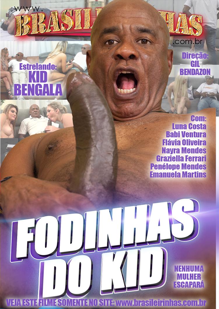 Capa frente do filme Fodinhas do Kid