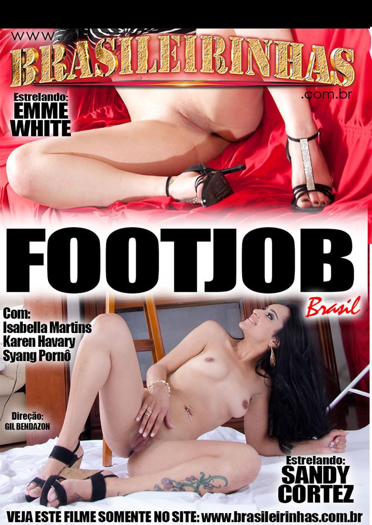 Capa frente do filme Foot Job Brazil