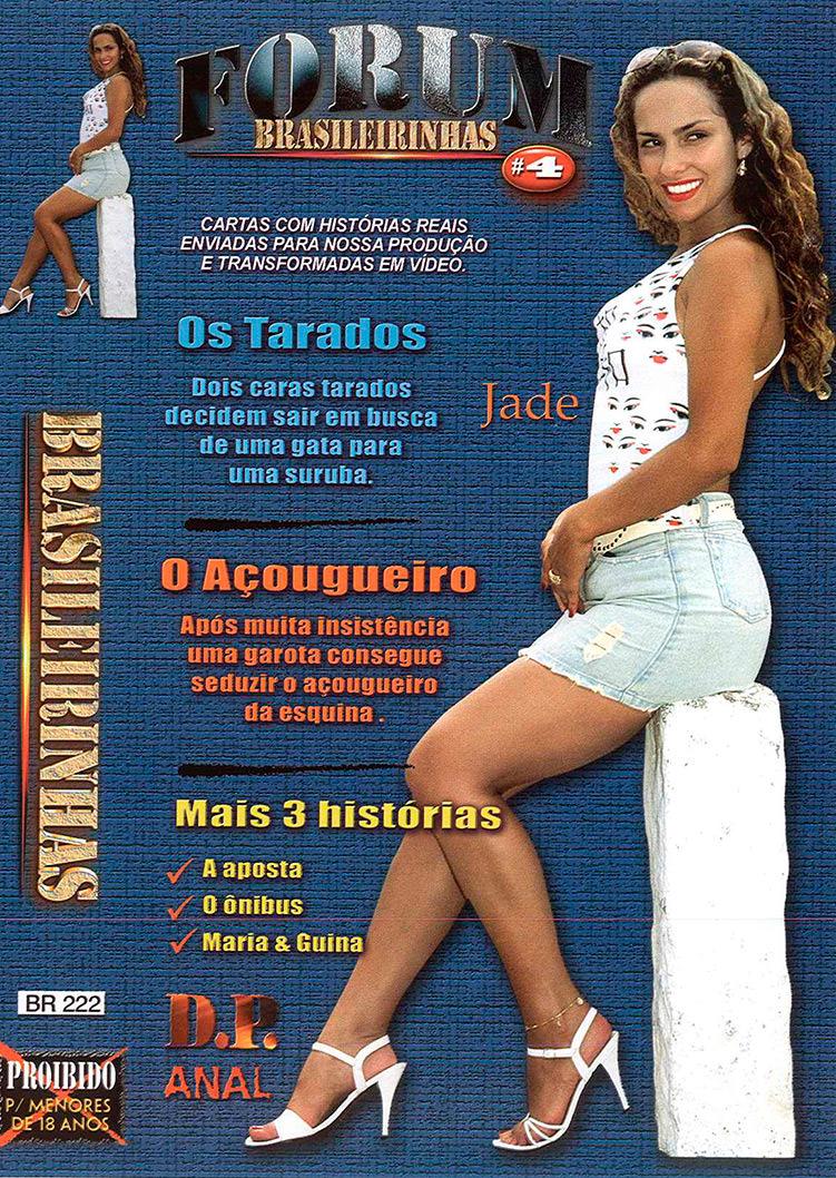 Capa frente do filme Fórum Brasileirinhas 4
