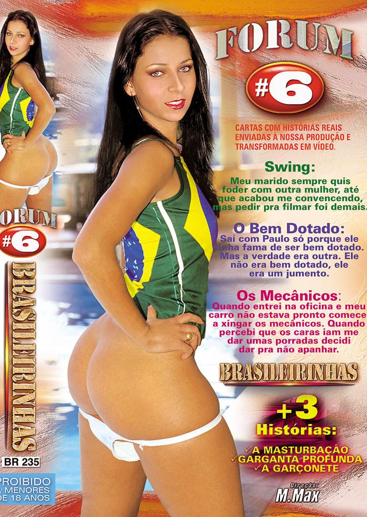 Capa frente do filme Forum Brasileirinhas 6