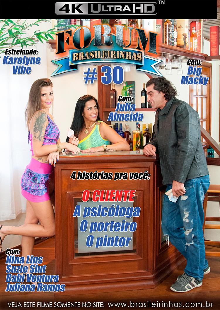 Capa frente do filme Forum Brasileirinhas 30 4k