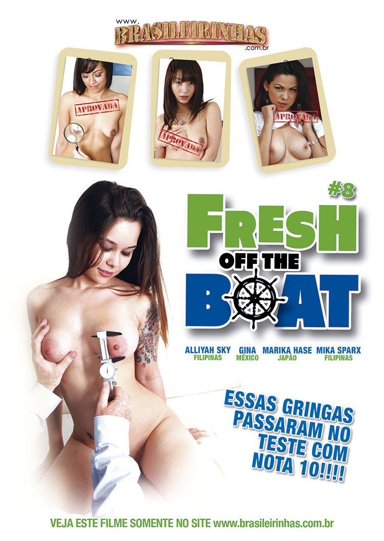 Capa frente do filme Fresh Off the Boat 8
