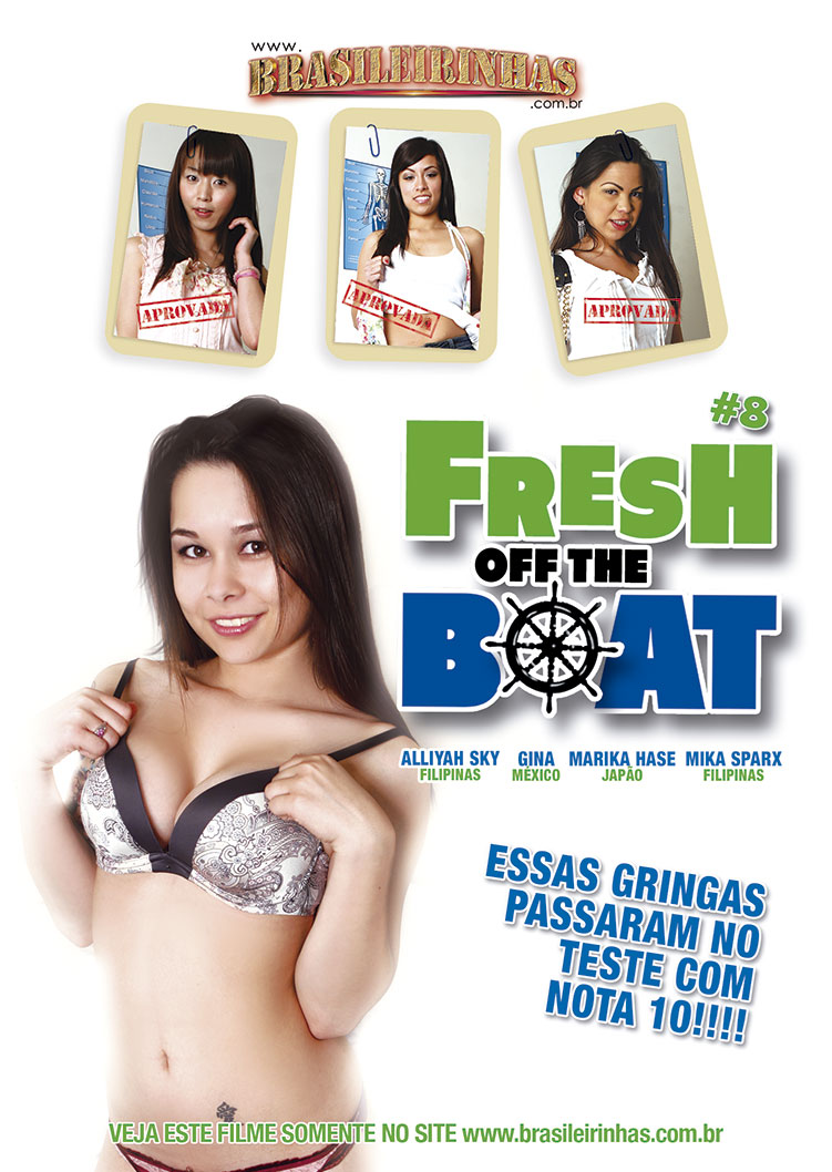 Capa Hard do filme Fresh Off the Boat 8