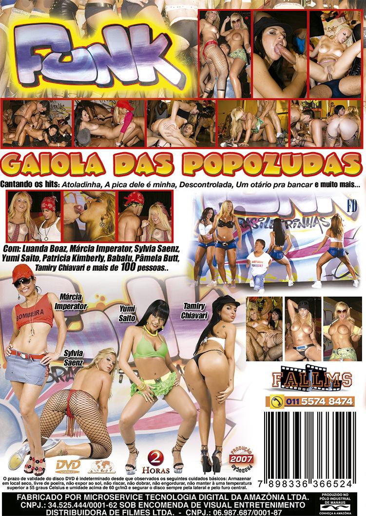 Capa tras do filme Funk com Gaiola das Popozudas
