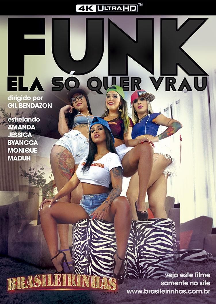 Capa frente do filme Funk - Ela Só Quer Vrau