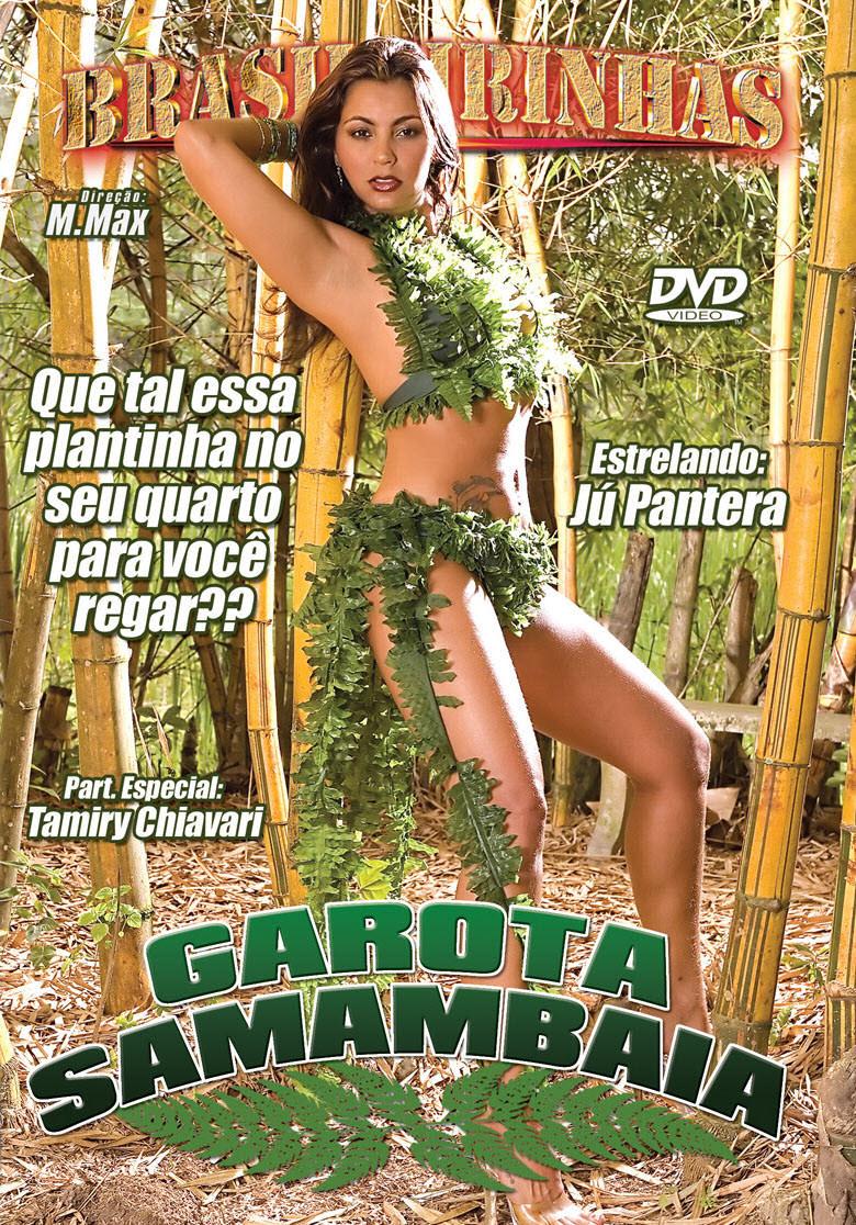 Capa frente do filme Garota Samambaia