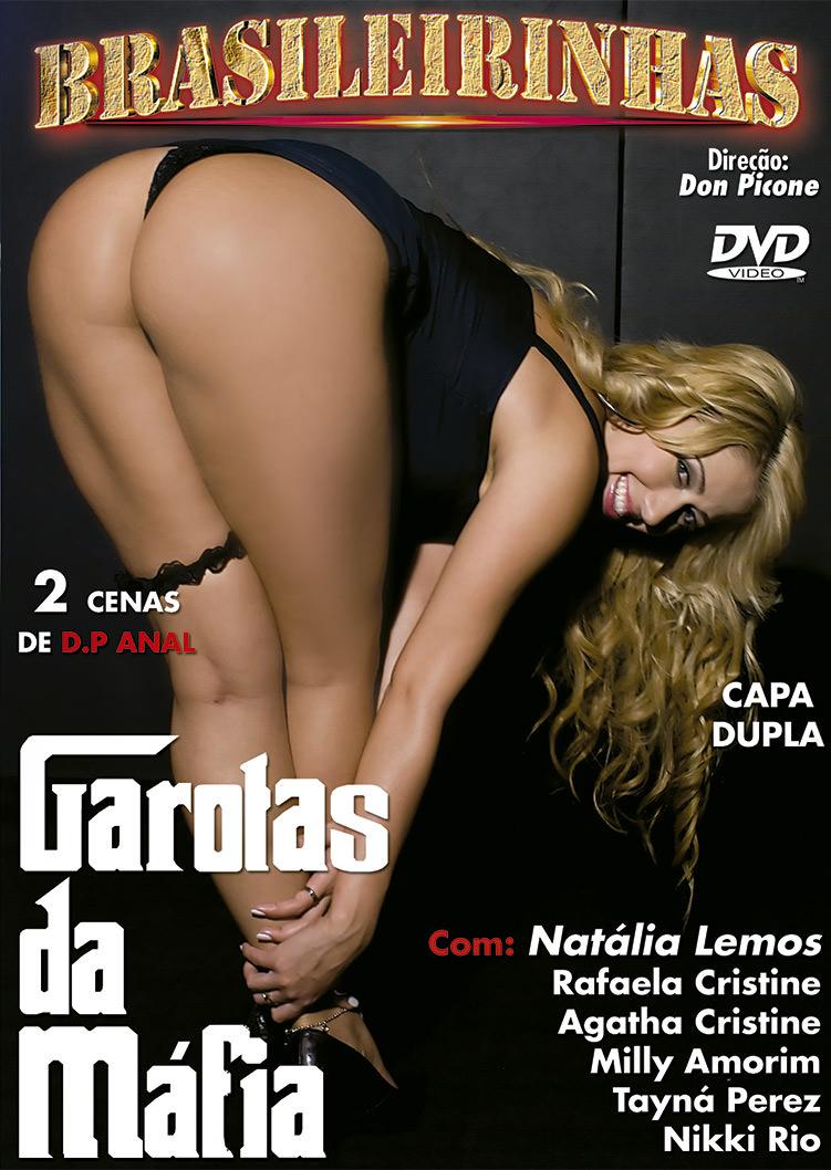 Capa frente do filme Garotas da Mafia
