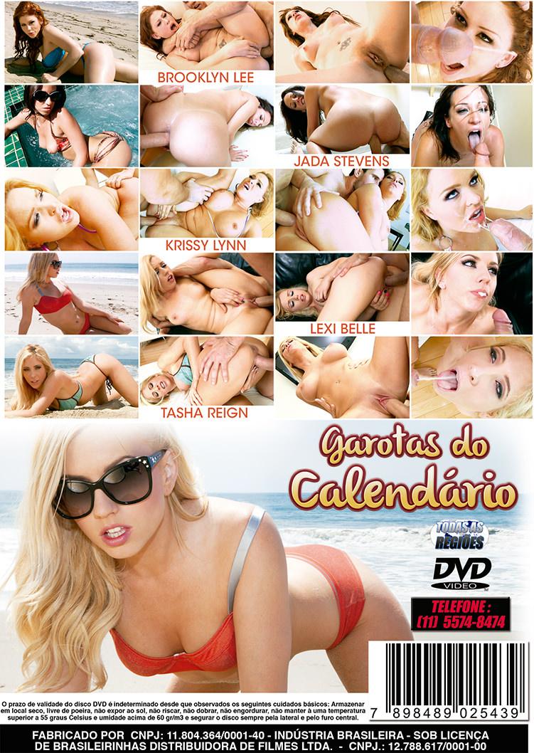 Capa tras do filme Garotas do Calendário 2012