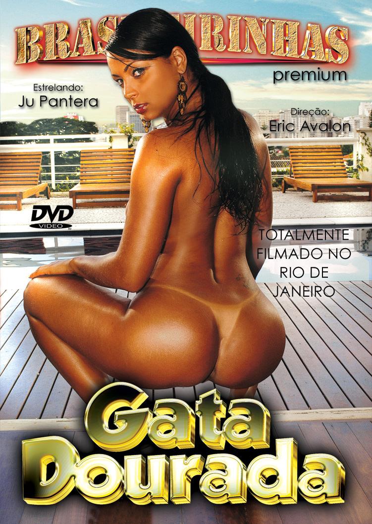Capa frente do filme Gata Dourada