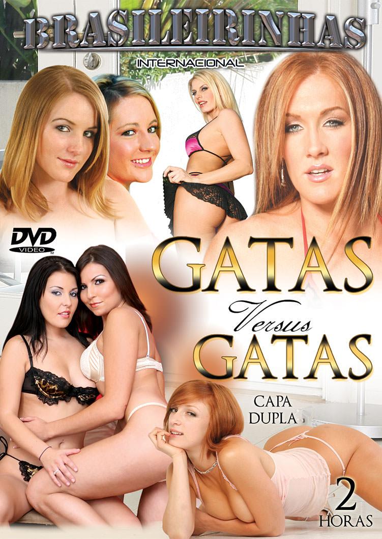 Capa frente do filme Gatas Versus Gatas