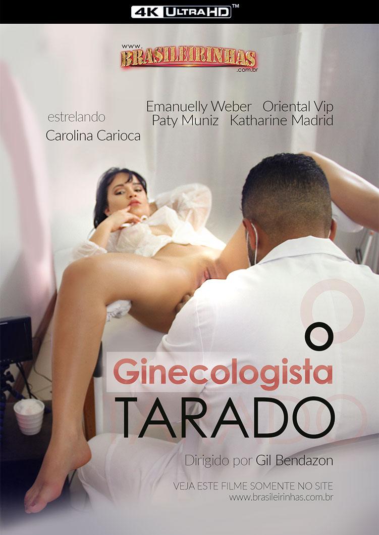 Capa frente do filme Ginecologista Tarado