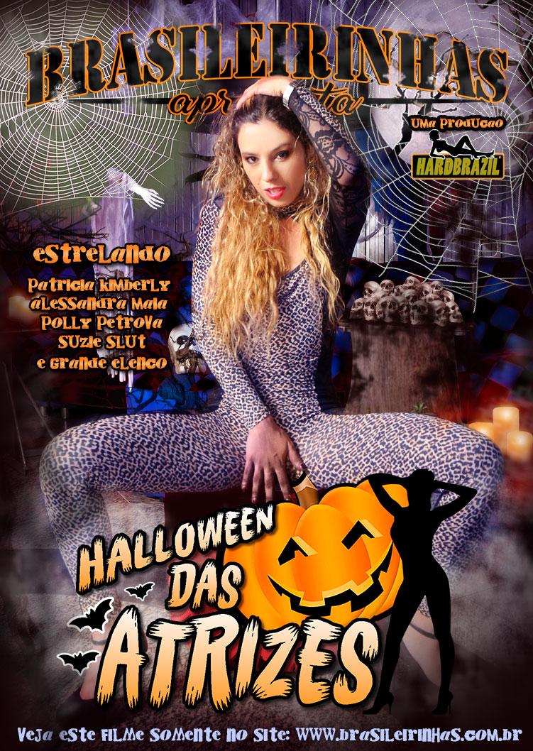 Capa frente do filme Halloween das Atrizes