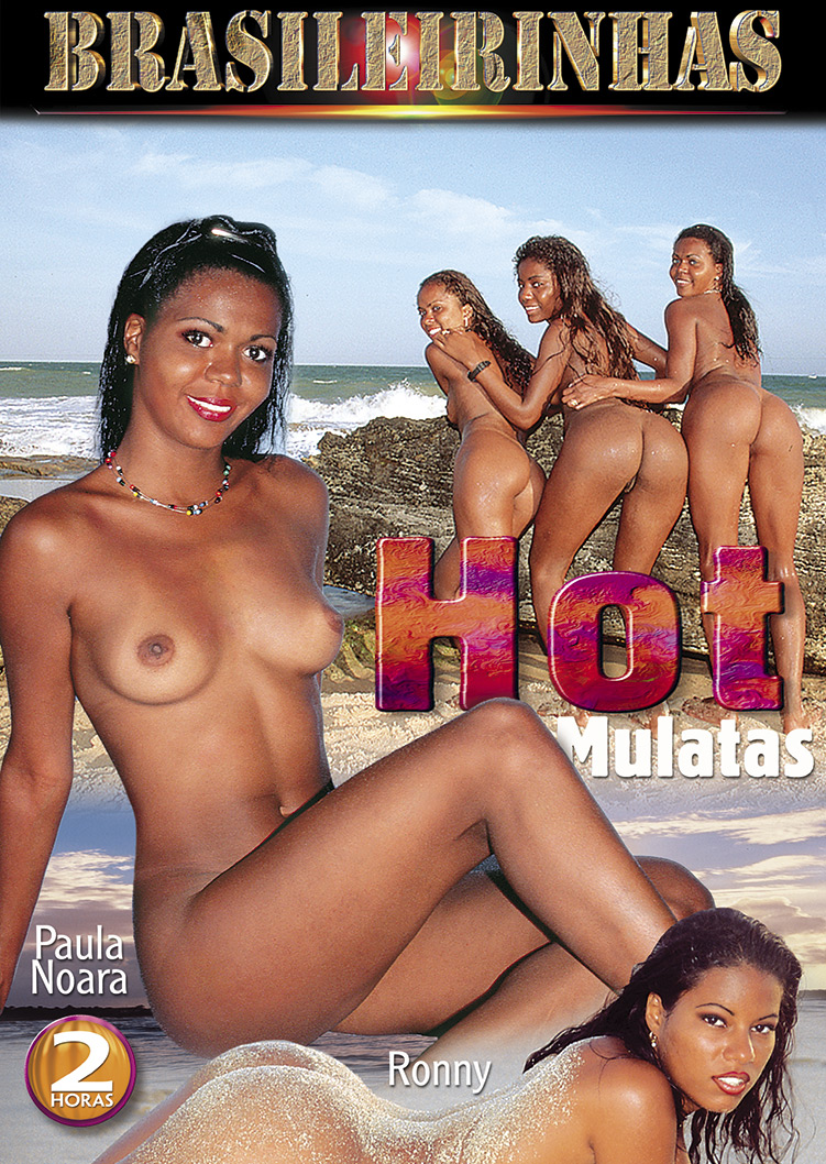 Capa frente do filme Hot Mulatas