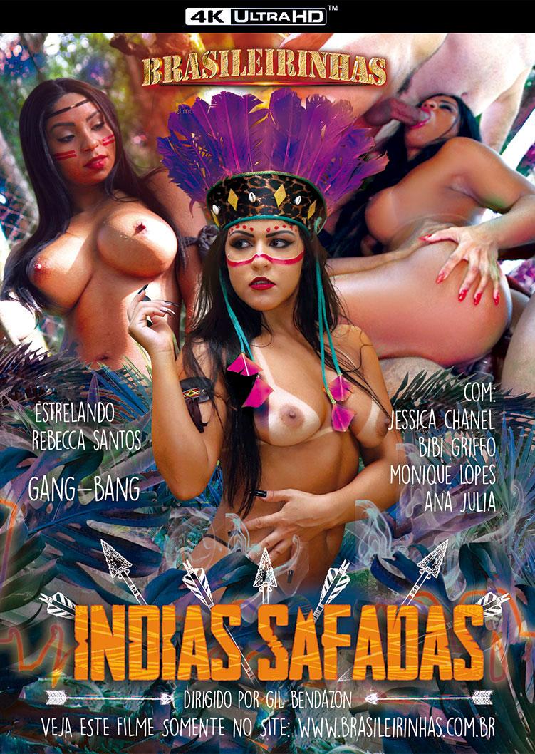 Capa frente do filme Indias Safadas