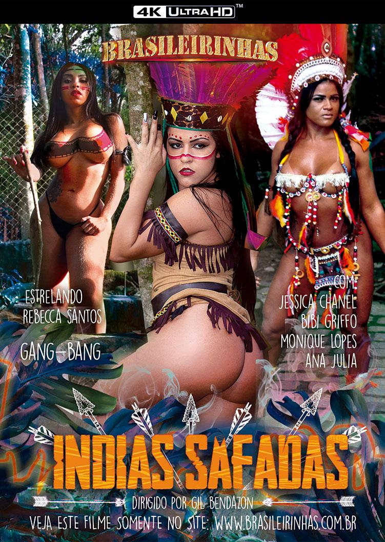 Capa Hard do filme Indias Safadas