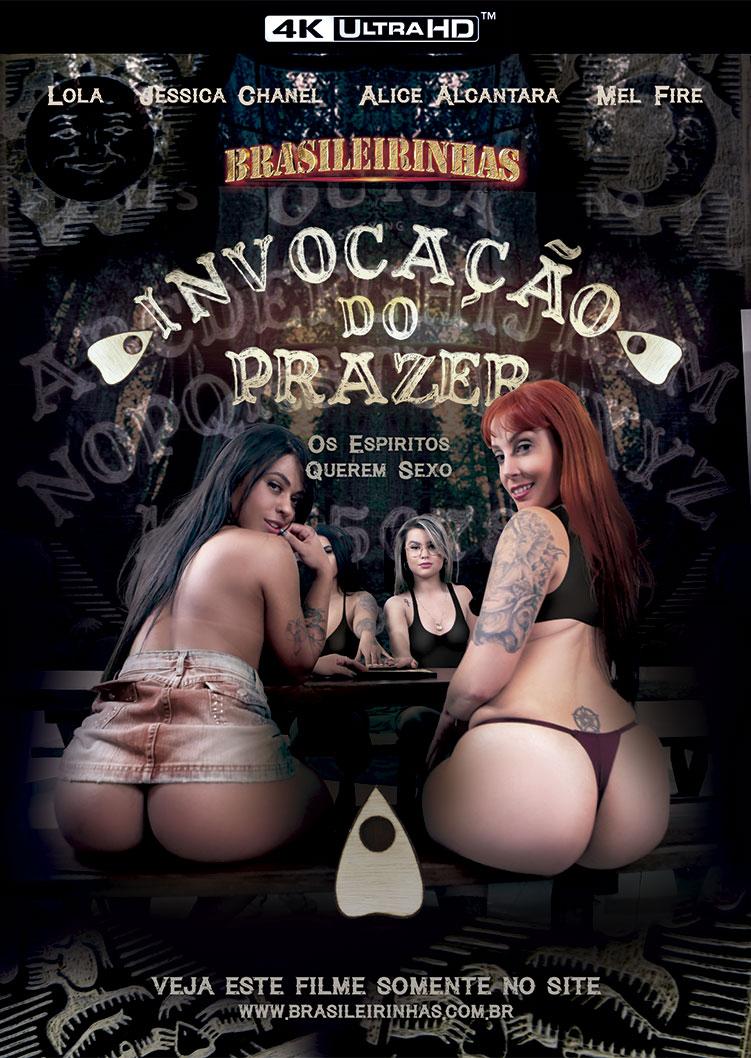 Capa Hard do filme Invocação do Prazer