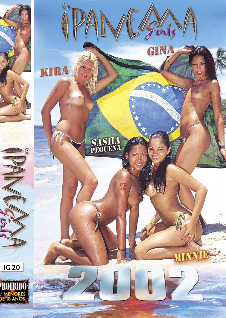 Capa frente do filme Ipanema Girls 2002