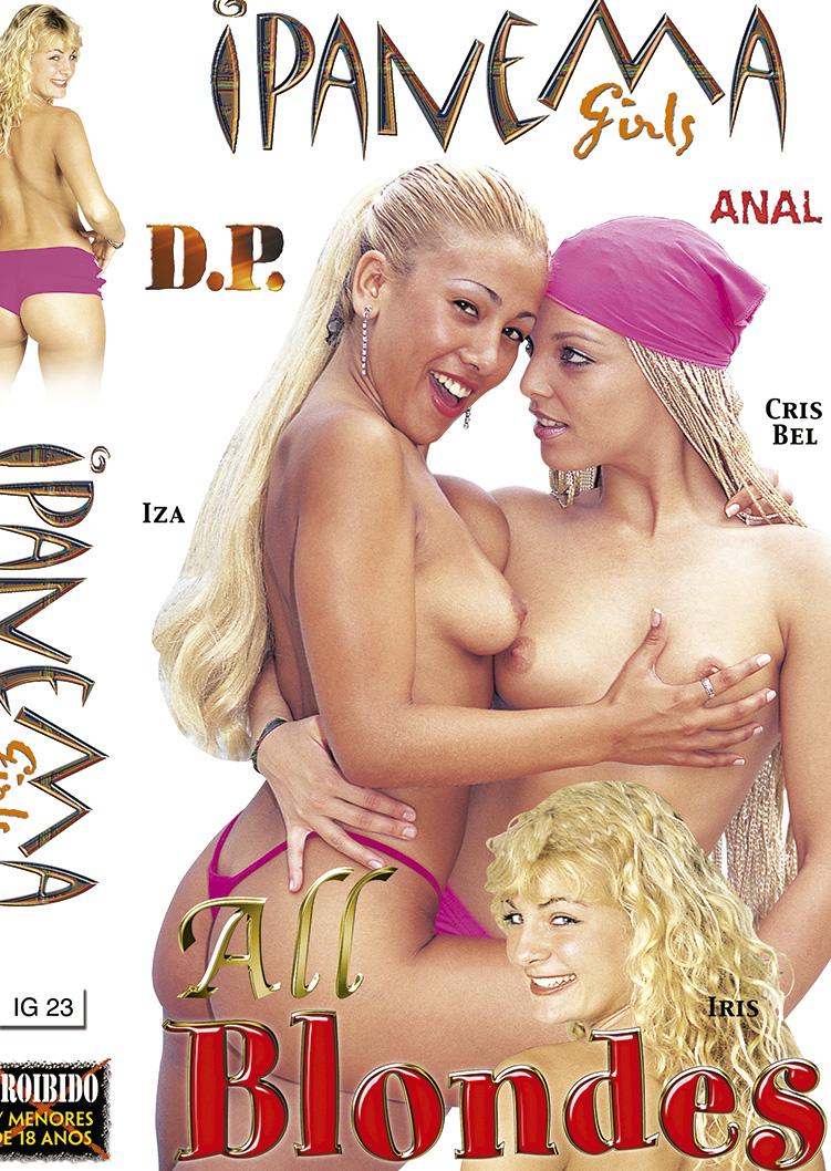Capa frente do filme Ipanema Girls All Blondes