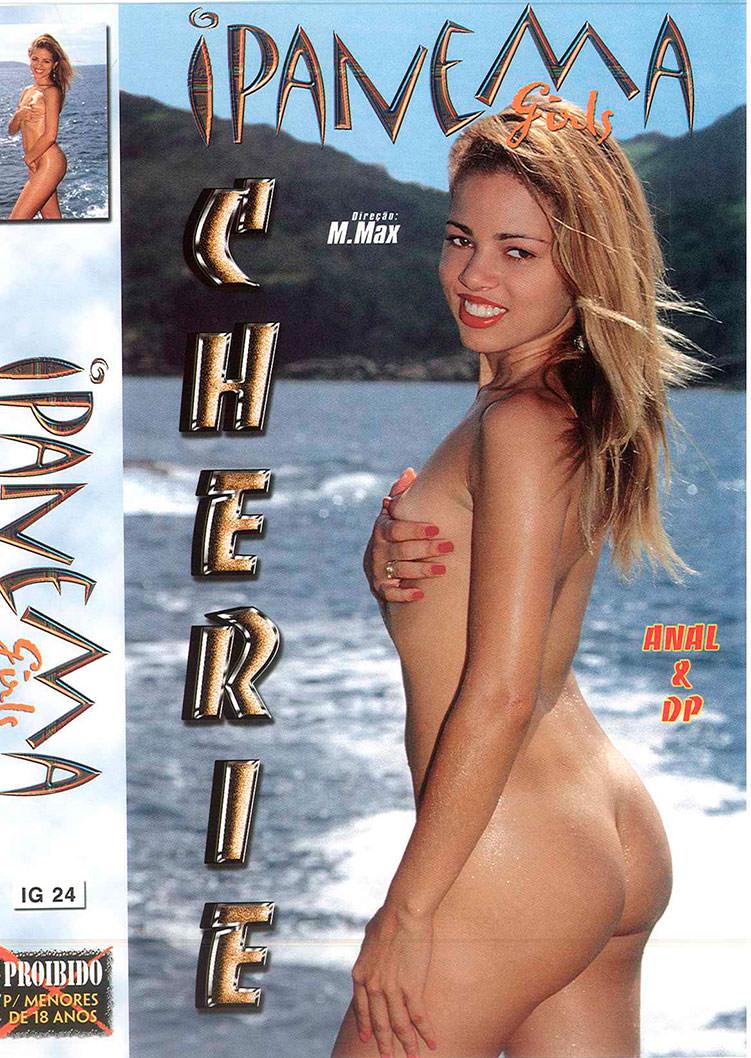 Capa frente do filme Ipanema Girls Cherie