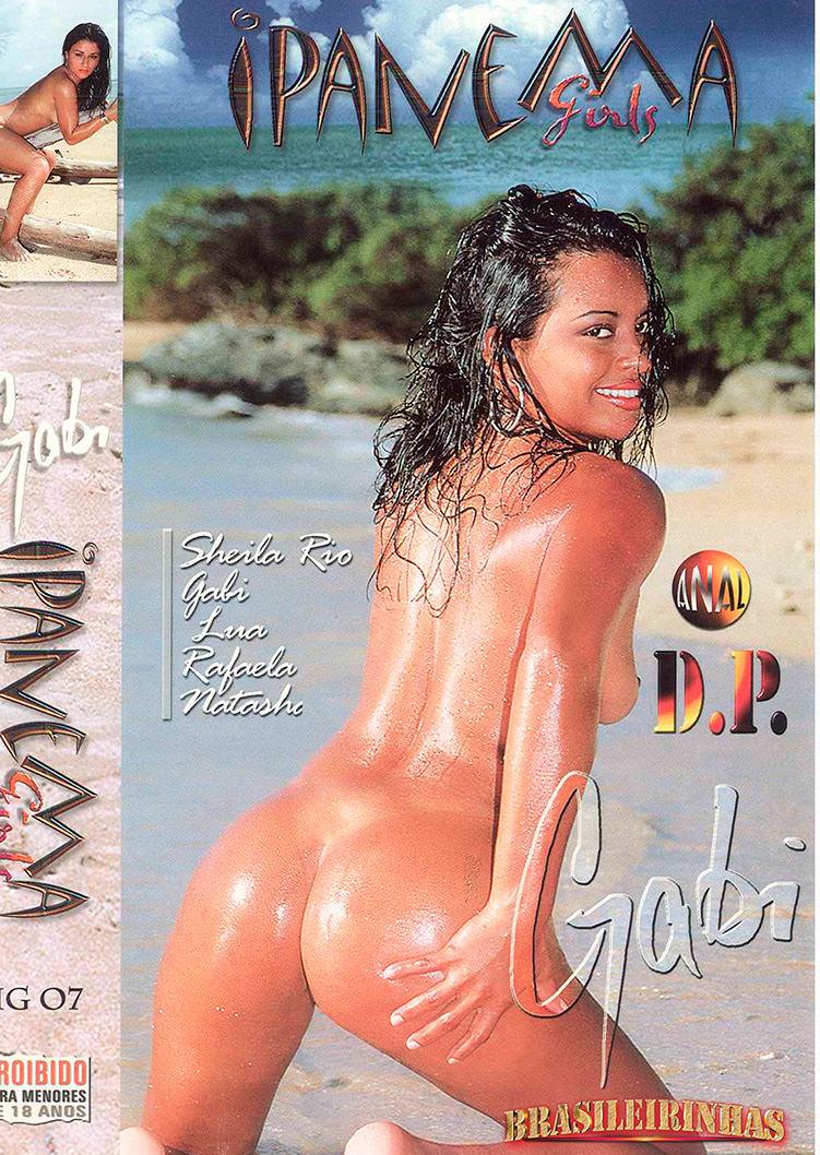 Capa frente do filme Ipanema Girls Gabi
