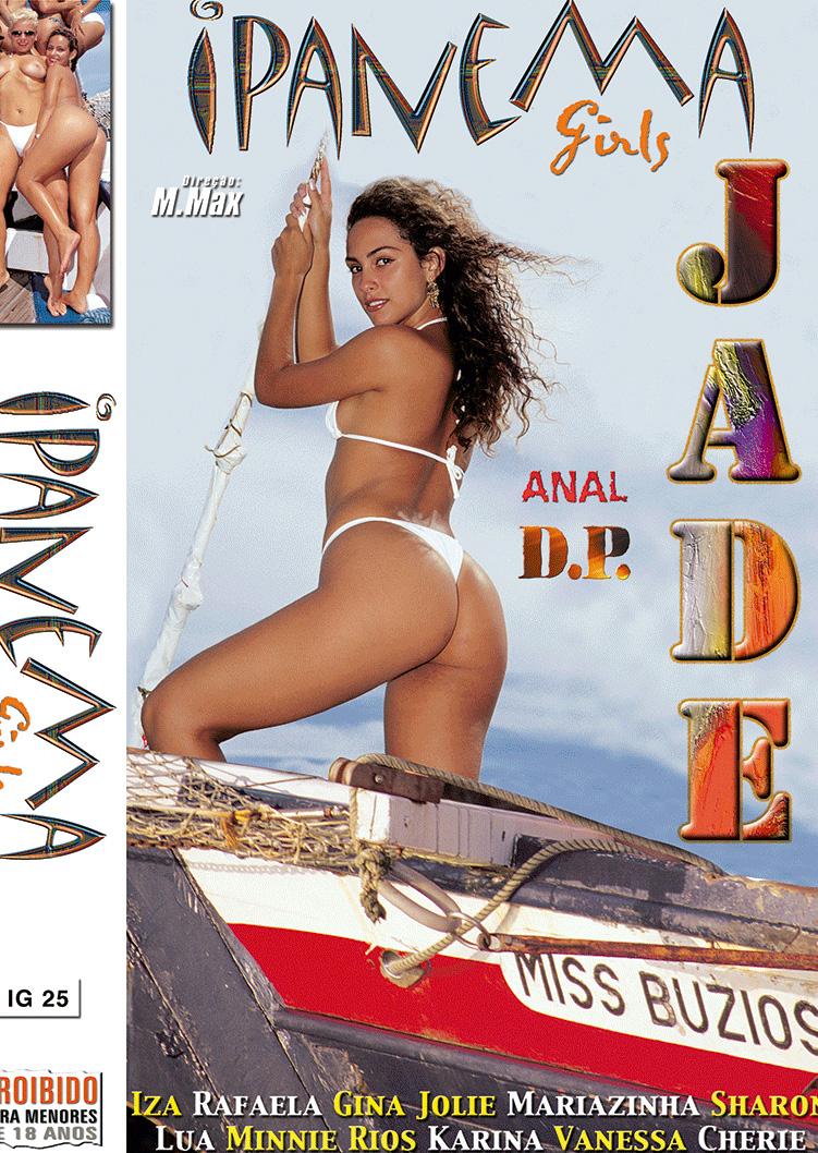 Capa frente do filme Ipanema Girls Jade