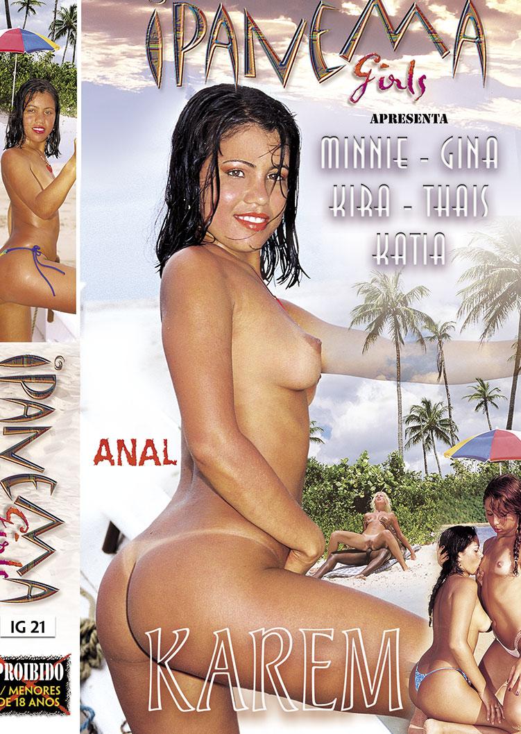 Capa frente do filme Ipanema Girls Karen
