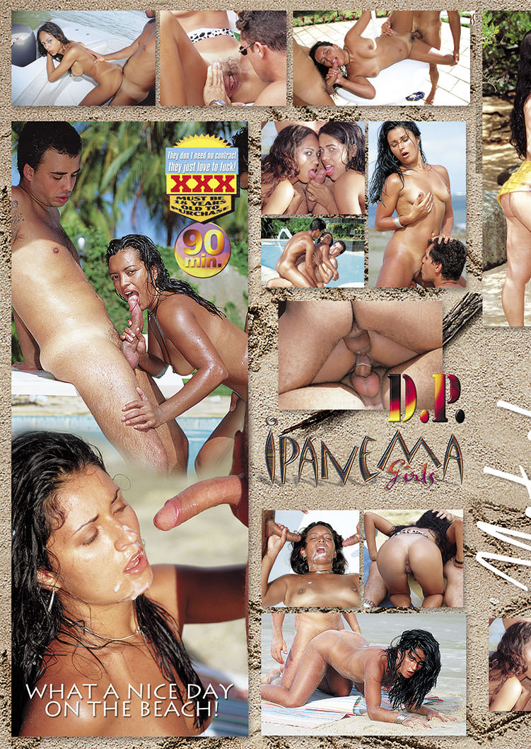 Capa tras do filme Ipanema Girls Natasha