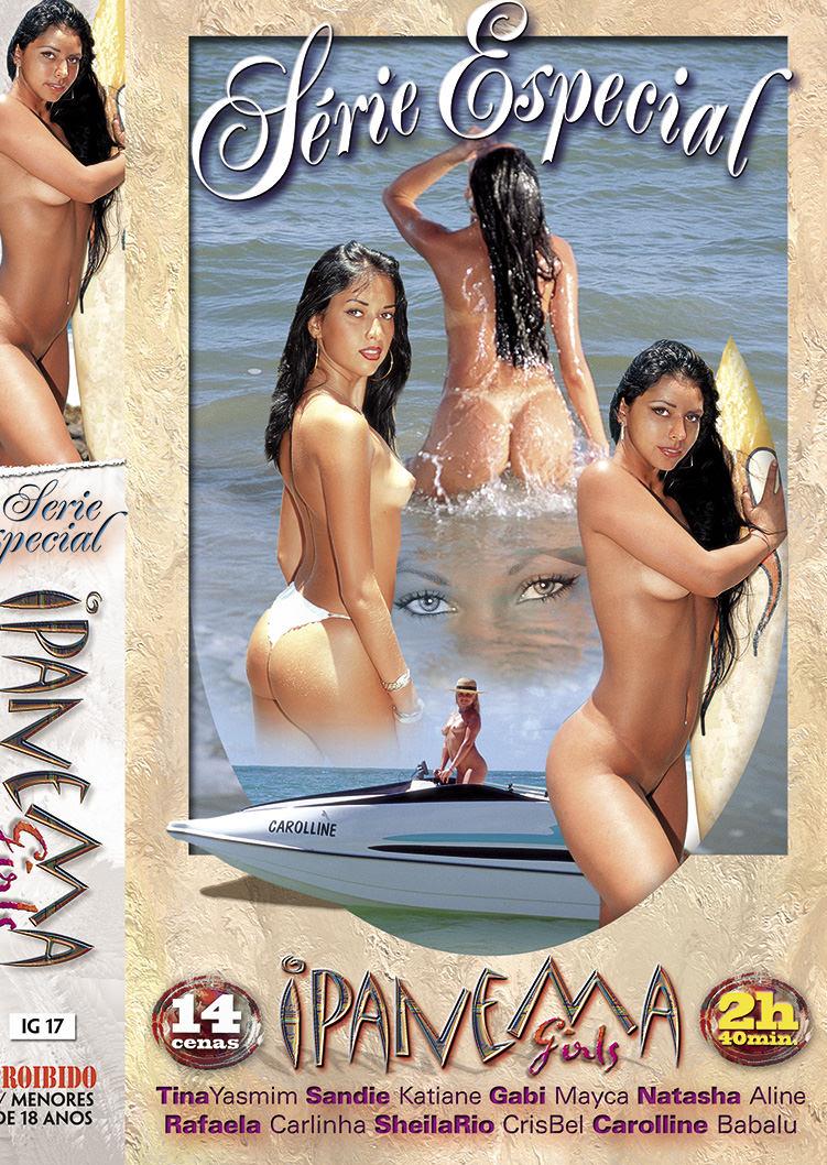Capa frente do filme Ipanema Girls Série Especial