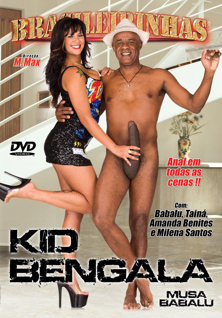 Capa frente do filme Kid Bengala Babalu