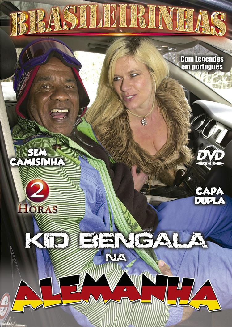 Capa frente do filme Kid Bengala Na Alemanha