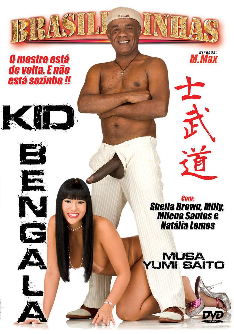 Capa frente do filme Kid Bengala Yumi Saito