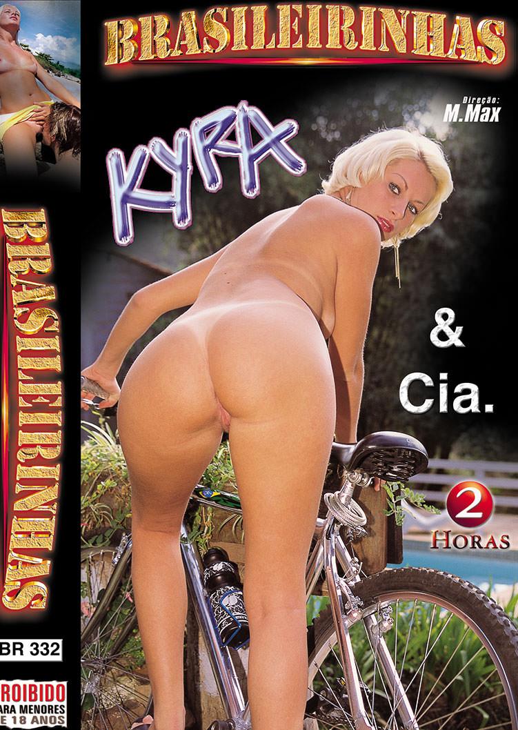 Capa frente do filme Kira e Cia