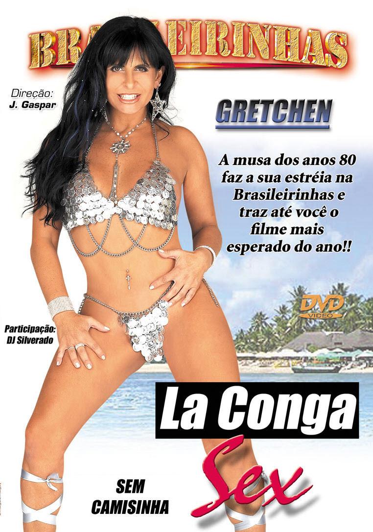 Capa frente do filme La Conga Sex