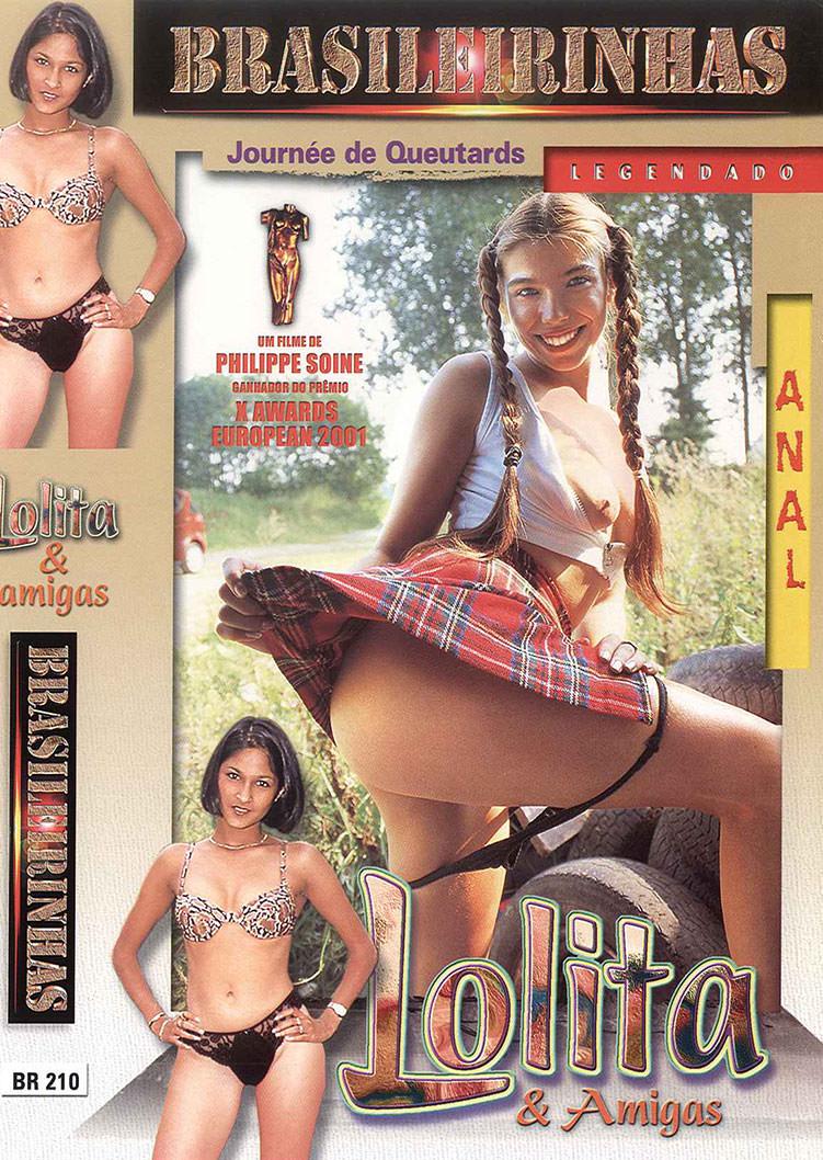Capa frente do filme Lolita e Amigas