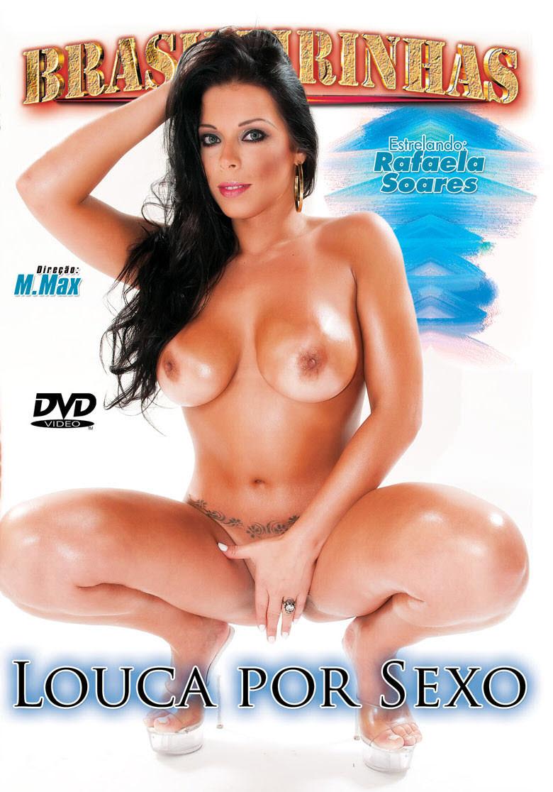 Capa frente do filme Louca por sexo