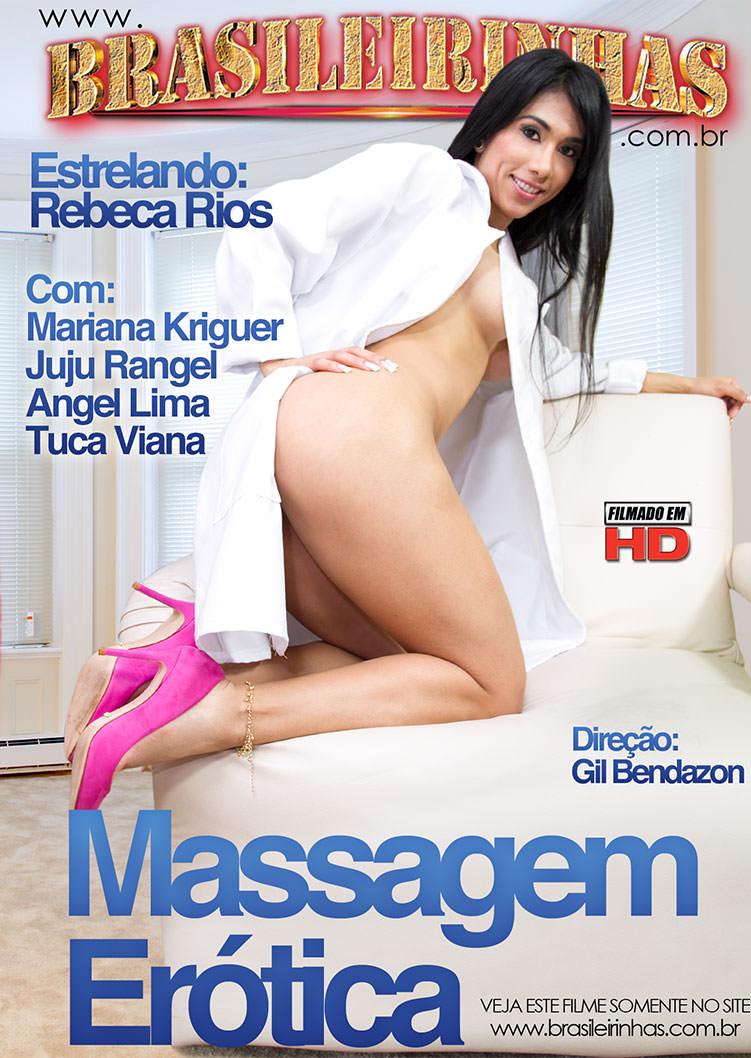 Capa frente do filme Massagem Erótica