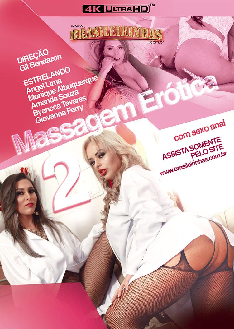 Capa Hard do filme Massagem Erótica 2