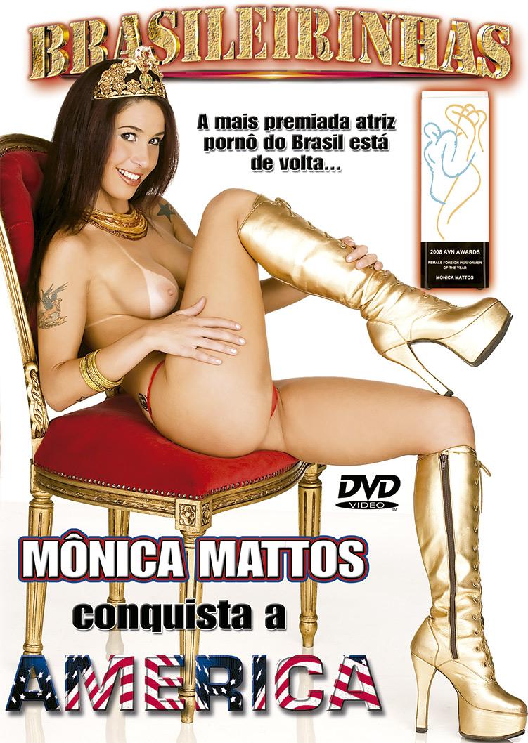 Capa frente do filme Monica Mattos Conquista a América