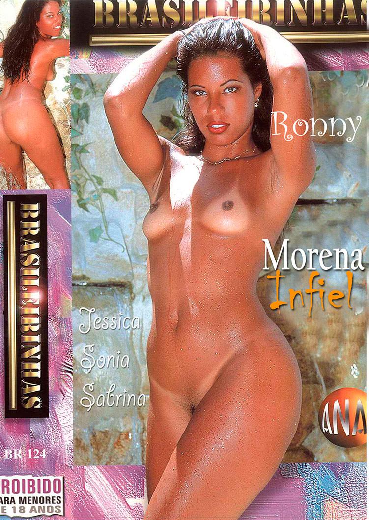 Capa frente do filme Morena Infiel