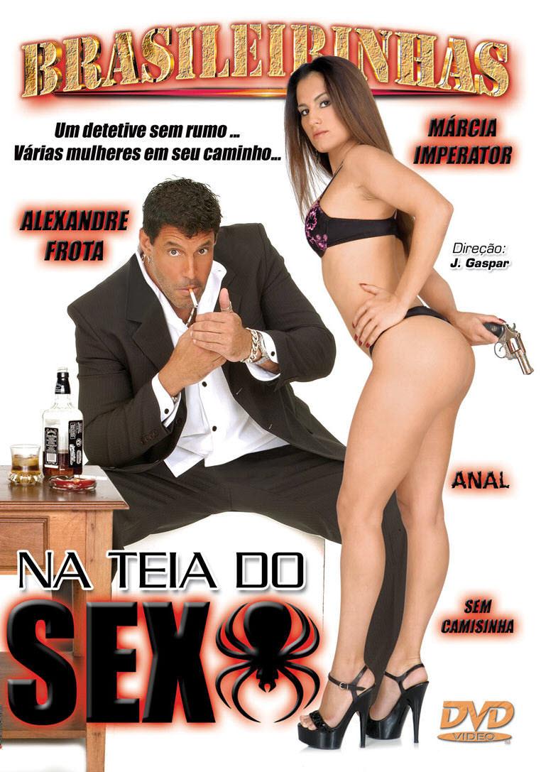 Capa frente do filme Na teia do sexo