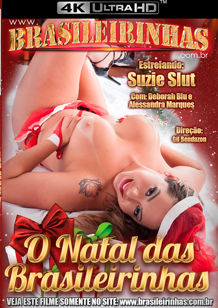 Capa frente do filme Natal das Brasileirinhas 4k