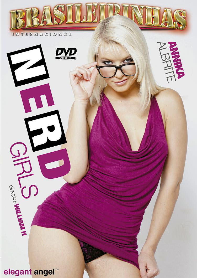 Capa frente do filme Nerd Girls