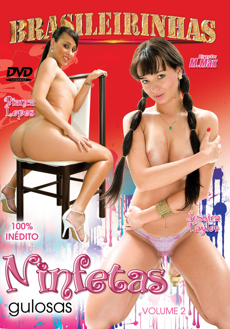Capa frente do filme Ninfetas Gulosas 2