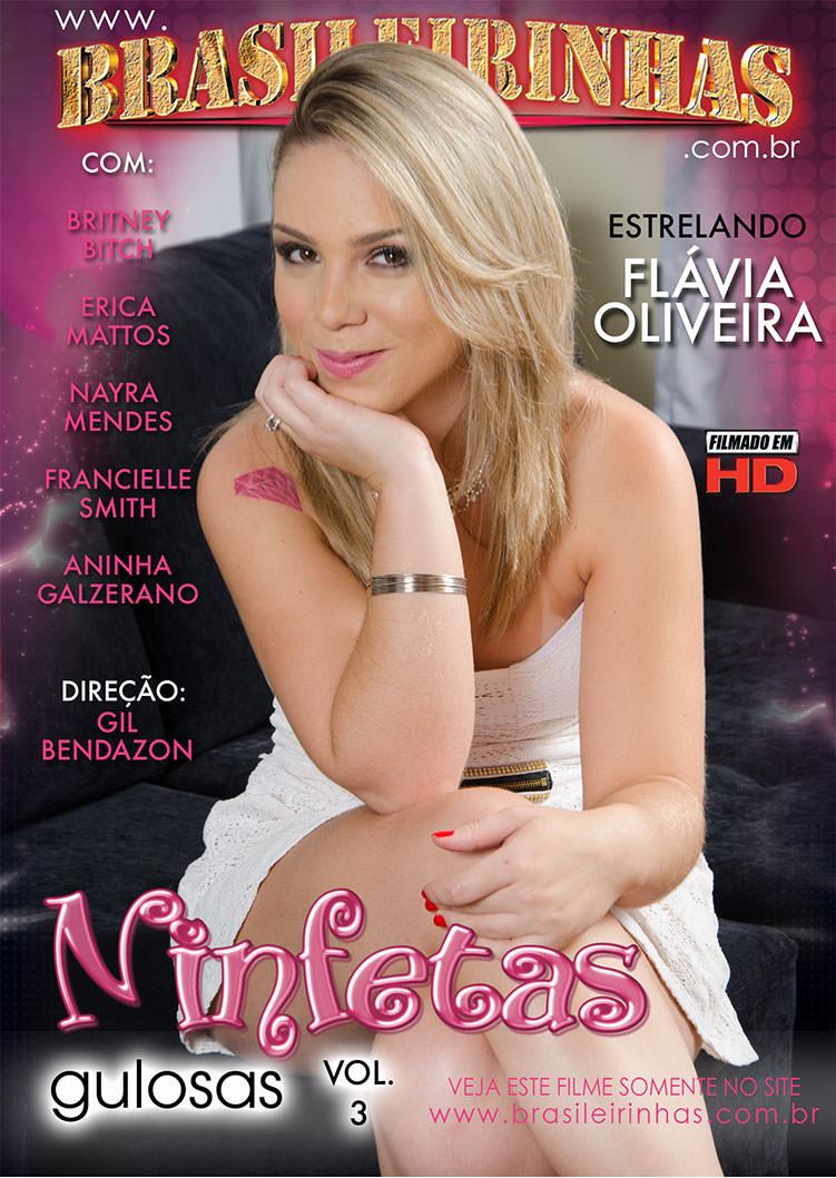 Capa frente do filme Ninfetas Gulosas 3