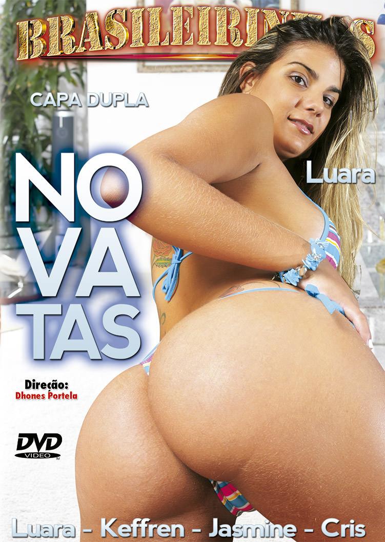 Capa frente do filme Novatas