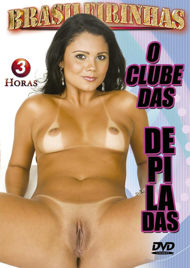 Capa frente do filme O Clube Das Depiladas