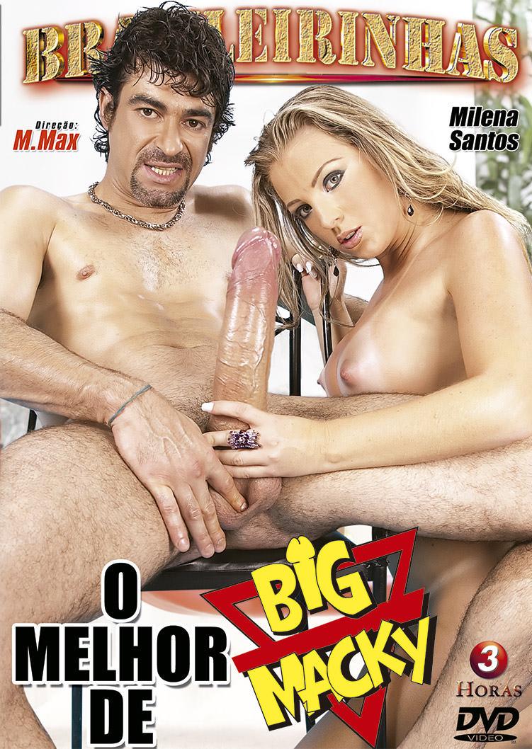 Capa frente do filme O Melhor de Big Macky